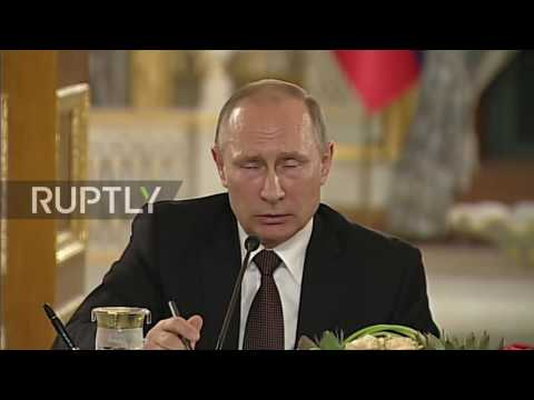 Turkey: Putin and Erdogan call for earliest cessation of bloodshed in Syria