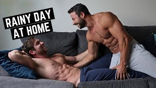 OUR RAINY DAY ROUTINE | Perfect Cuddling Weather