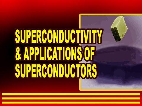 Superconductivity and Applications of Superconductors | Physics4students