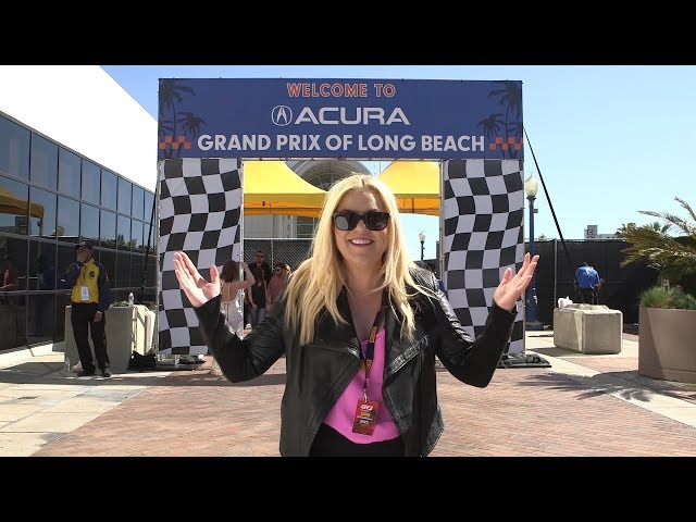 Molly Saleen Trolls Pit Row at the Long Beach Grand Prix (LBGP)
