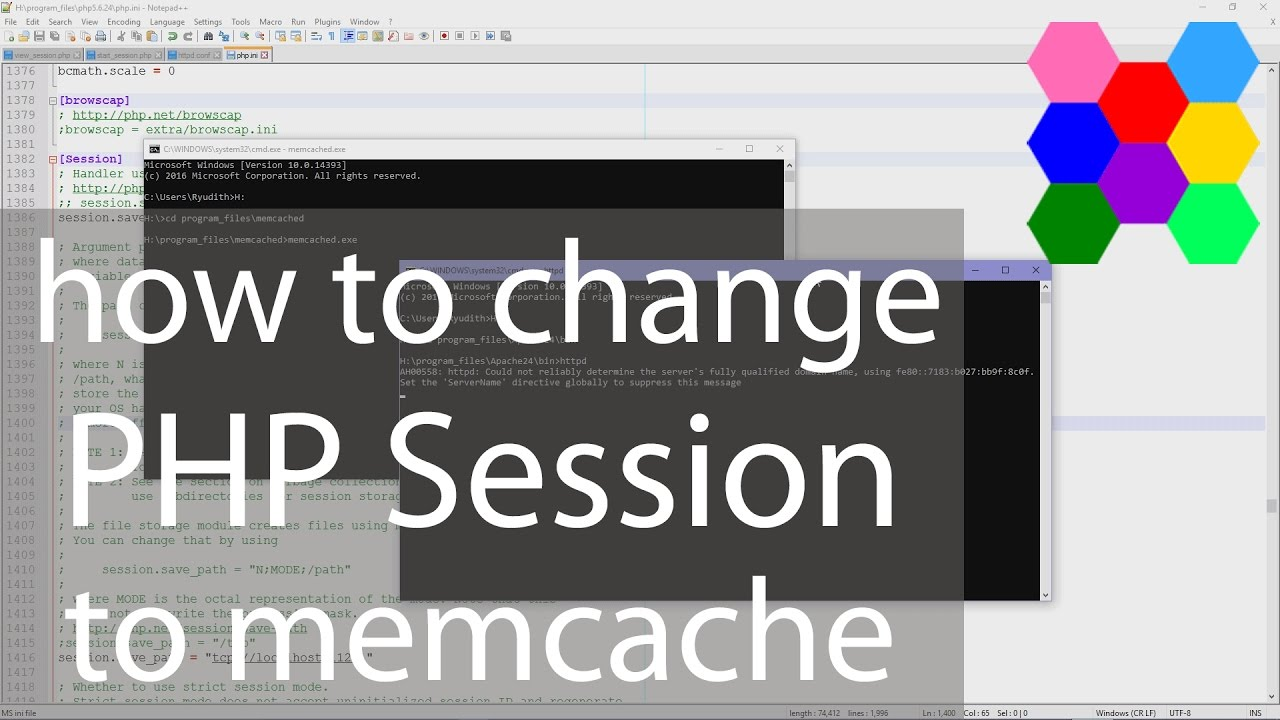How To Change PHP Session To Memcache