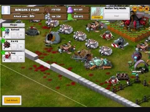 Backyard Monsters Zafreeti D A V E Destruction Youtube
