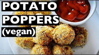 Vegan Rev - How To Make Jalapeño Potato Poppers! - Ep12