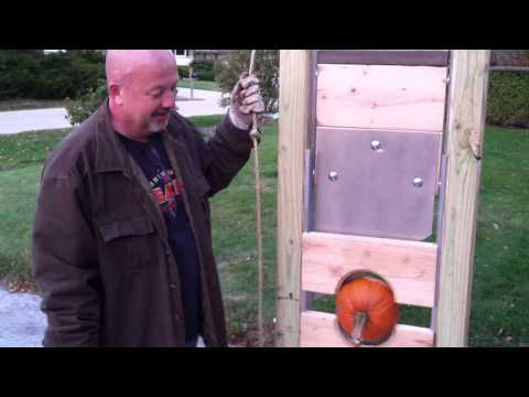 Mount Pleasant man marks Halloween with a homemade guillotine