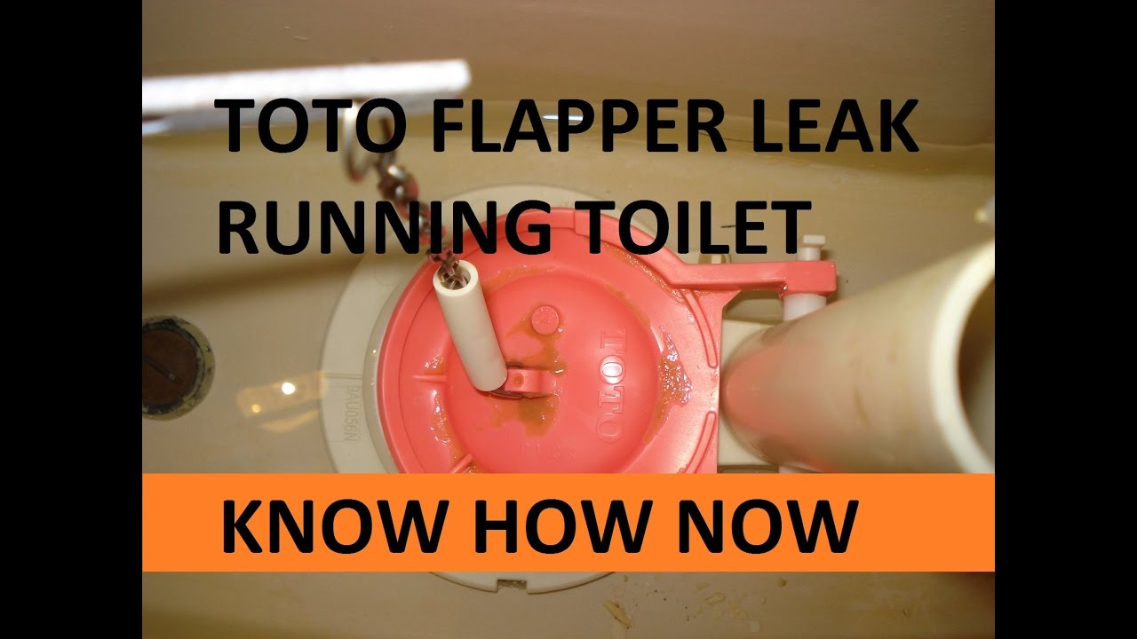 toto toilet won 39 t stop running youtube. Black Bedroom Furniture Sets. Home Design Ideas