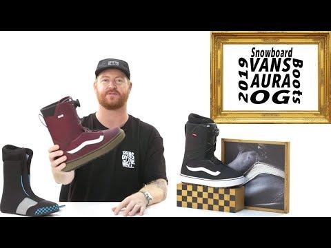 2019 Vans Aura OG Snowboard Boots Review