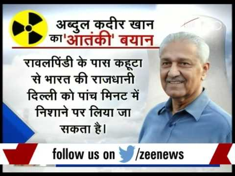 DNA: Analysis of Pakistan's nuclear bomb threat to Delhi