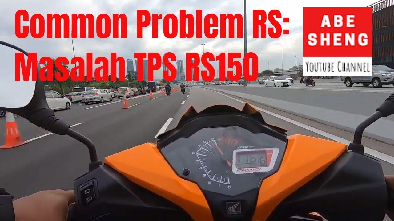 Masalah Moto Semput pada RS150 TPS Problem/Sensor Set