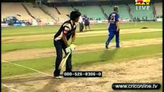 Shahruk Khan Batting in ipl 2011 for KKR HD