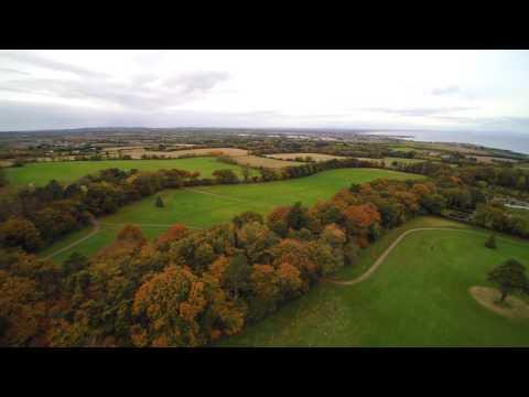 Q500 4K Aerial View Of Ardgillan Castle - Balbriggan Co.Dublin