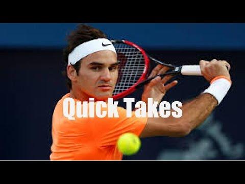 Analysis: Roger Federer runs over Jack Sock at Indian Wells