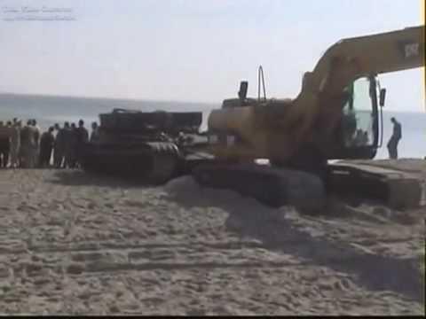 Baltic Sea - German Tank Recovery
