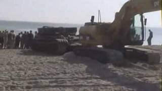 Baltic Sea - German Tank Recovery