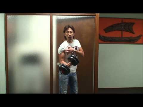 筋トレ 上腕二頭筋 力こぶ!! Muscle Traning. Karaoke Mokomoko Hawiian. カラオケ モコモコ ハワイアン