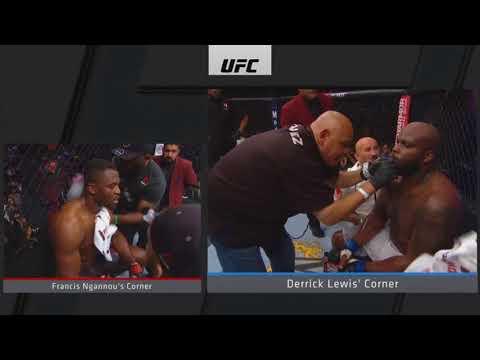 Francis Ngannou Vs Derrick Lewis Boring Ass Fight