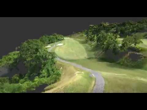 【UAV空撮】ゴルフ場3D点群動画(コース紹介)