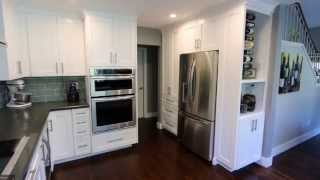 Transitional Style White Cabinets Kitchen Remodel in Trabuco Canyon by APlus Kitchen