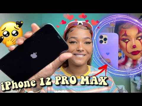 MEU CELULAR NOVO iPhone 12 PRO MAX + desabafo