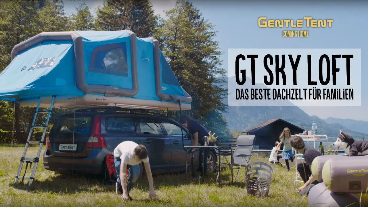 Gt Sky Loft Inflatable Roof Top Tent For Families Gentletent