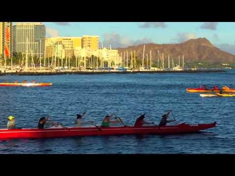 Ala Wai Yacht Harbor, Hawaii