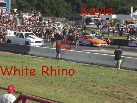 Kayla Morton and the White Rhino at Outlaw Armageddon 2016