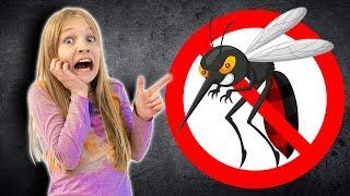 Авелину укусил комар. Кто УПРАВЛЯЕТ комаром? Плохая Амелия!