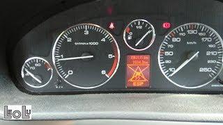 Identification d'un capteur de roue ABS/ESP HS sur Peugeot 407