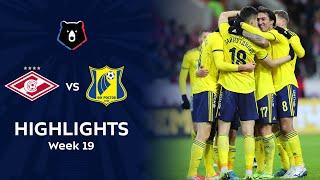 Highlights Spartak vs FC Rostov (1-4)