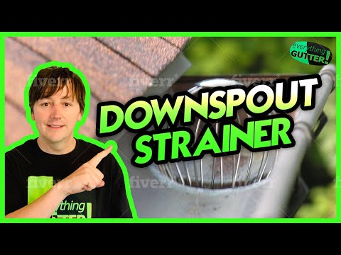 Downspout Strainer Review Youtube