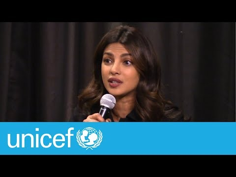 War was not their choice - Priyanka Chopra | UNICEF