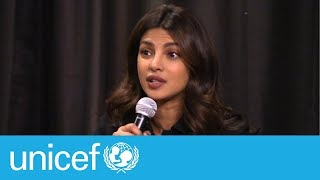 War was not their choice - Priyanka Chopra | UNICEF