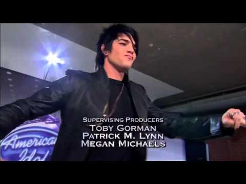Adam Lambert - Idol Top 36 Dance!