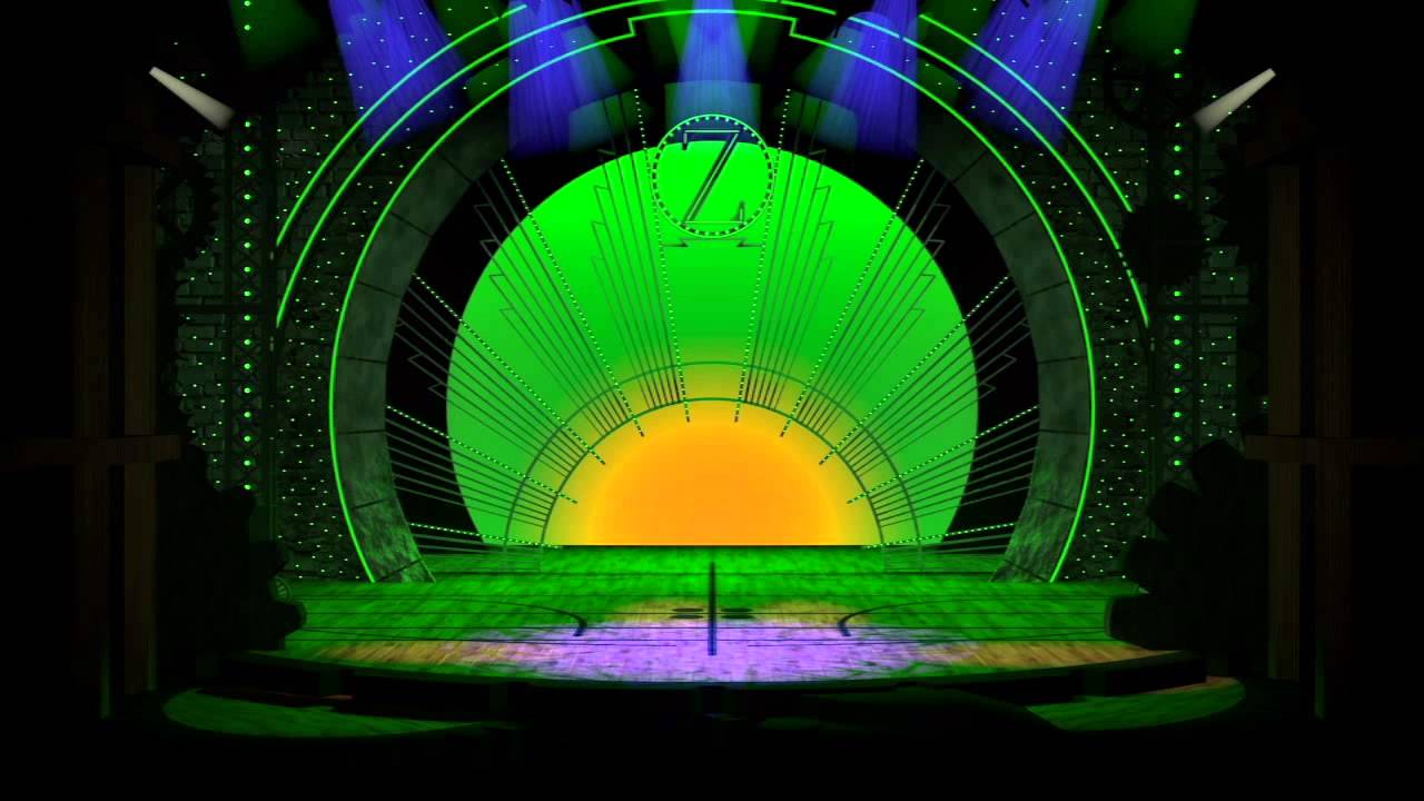 WICKED Musical  One Short Day 3D Stage Animation  YouTube