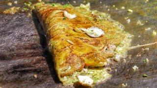 Mouthwatering Egg Paplet Omlet Ever | Egg green Dishes ever | Egg Street Food |Indian Street Food