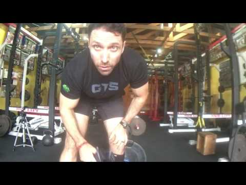 Part 5 of 11 - shin protection - GTS Modified Sumo Deadlift - GTS Exercise Index