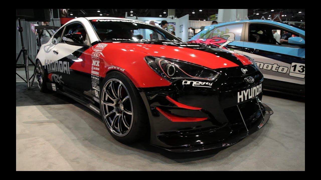 Hyundai Genesis Coupe R-Spec Track Edition - 2012 Sema ...