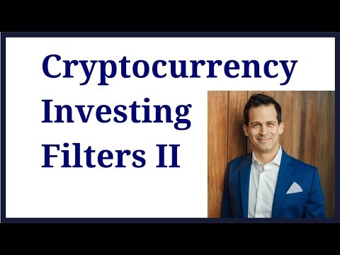 Cryptocurrency Investing filters