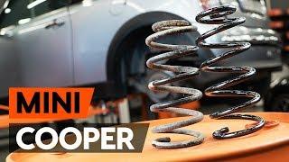 Kuinka vaihtaa takajousi MINI COOPER 1 (R50, R53) -merkkiseen autoon [OHJEVIDEO AUTODOC]