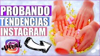 PROBANDO TENDENCIAS VIRALES DE INSTAGRAM | VIRAL INSTAGRAM TRENDS