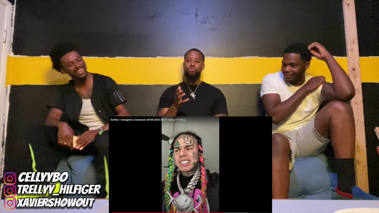 WHAT WOULD YOU DO? Does 6ix9ine get a pass for snitching? 6ix9ine's LIVE REACTION and THOUGHTS