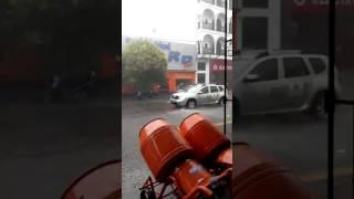 Video: La lluvia de esta tarde en Salta 01