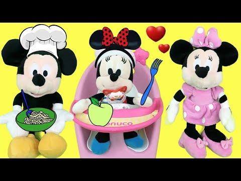 Mickey Mouse & Minnie Mouse en español: bebe come en casa de mikey. Episodio completo 2018