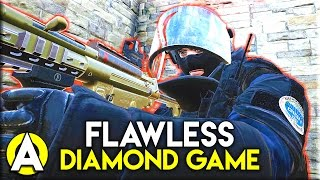 FLAWLESS DIAMOND GAME! - Rainbow Six: Siege (Ranked Diamond Gameplay)