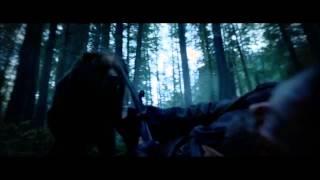 """медведь напал на хью гласса(леонардо ди каприо)""""выживший"""""""