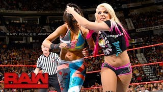 Bayley vs. Alexa Bliss: Raw, July 17, 2017