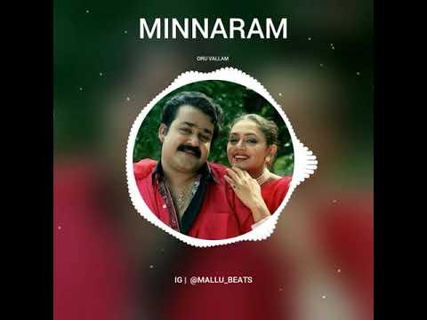 Minnaram Remix Song | Malayalam Remix Song | Oru Vallom Ponnum Poovum DJ