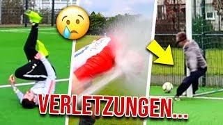 UNSERE HEFTIGSTEN VERLETZUNGEN IN FUSSBALL CHALLENGES!