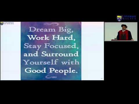 Syarahan Perdana Prof Dr Awang Bulgiba - The Realisation Of A Dream