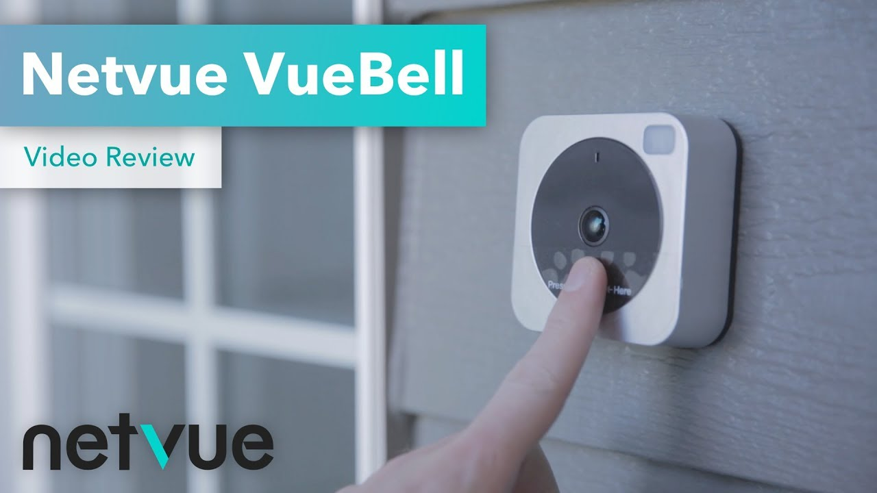 Wifi Camera Doorbell, NETVUE HD | 4Prototypes com