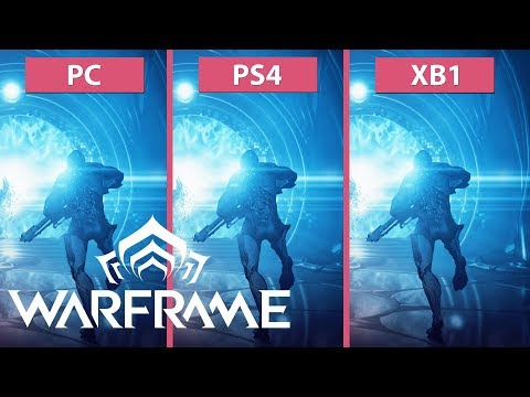 Warframe – PC vs. PS4 vs. Xbox One Frame Rate Test & Graphics Comparison